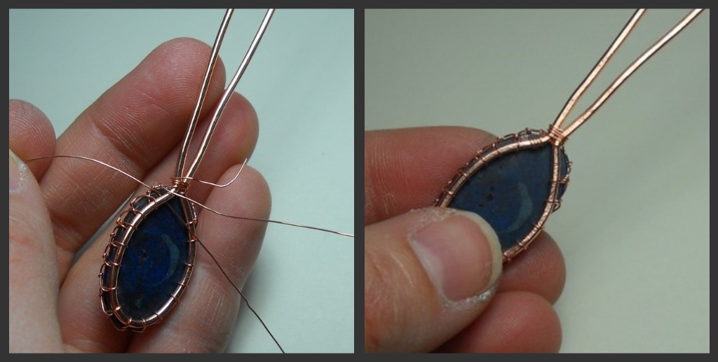 Wire Wrapped Bezel for Cabochons   Eat. Breathe. Design.